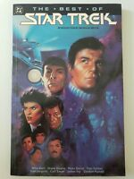 THE BEST OF STAR TREK TPB COLLECTION 1991 DC COMICS PETER DAVID!+ NEW UNREAD HTF