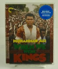 When We Were Kings Criterion Blu-ray Oct/2019 Brand New. Factory Sealed.
