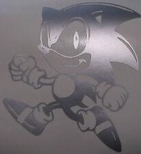 SONIC The Hedgehog * 2 * Vinile Decalcomania Adesivo Finestrino Auto Portatile Sistema di gioco muro