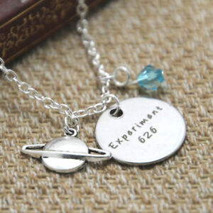 Experiment 626 necklace Alien outer space Lilo and Stitch necklace