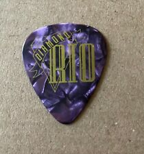 DIAMOND RIO - Tour Issued Guitar Pick Purple Marble & Gold Country