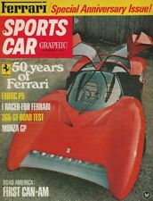 SPORTS CAR GRAPHIC 1968 NOV - FERRARI Spcl, ENGINES, RACING & CARS