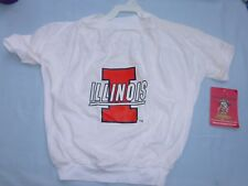 Illinois Fighting Illini DOG/Pet  T-SHIRT  size 3XL    by Doggienation.com  NWT