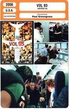 FICHE CINEMA : VOL 93 - Basche,Thirlby,Greengrass 2006 United 93