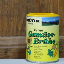 Brüox Feine Gemüsebrühe 180 g, Suppe & Allwürzmittel mit Steinsalz, vegan
