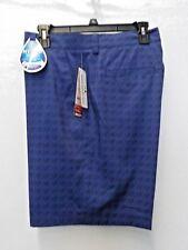 Men's Size 40 Grand Slam Blue Space Dye 360 Motion Golf Shorts Nwt #8537
