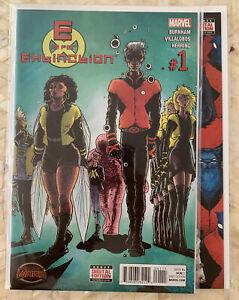 E Is For Extinction #1 2 3 4 SECRET WARS Marvel X-Men Hickman 2015