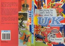 "GOOD HB Book ""Everything You Didn't Need to Know About the UK "" by Nick Brownlee"