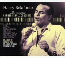 HARRY BELAFONTE The Complete Carnegie Hall Concerts 2011 3xCD box set NEW/SEALED