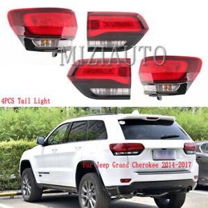 LED Tail Light For Jeep Grand Cherokee SRT 2014 2015 2016-2020 Brake Rear Lamp