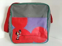 Vintage Disney Magic Kingdom Club Gold Card Tote Shoulder Carry Bag Mickey