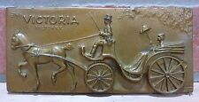 Antique The VICTORIA FULTON NY Alan Foster Ettl Studios NYC Plaque Paperweight