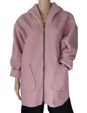 EG 40 42 44 46 Farbenfrohe Jacke Übergangsjacke Kapuzenjacke Wolljacke ITALIEN