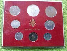 VATICAN VATICANO COIN Set 1975 with silver 500 LIRE