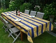 Tischdecke Provence 150x300 cm blau gelb Oliven aus Frankreich, pflegeleicht