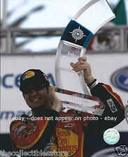 MARTIN TRUEX JR BASS PRO SHOPS CORONA MEXICO 200 NASCAR BUSCH WIN 8 X 10 PHOTO