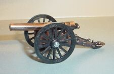 Civil War Cannon Miniatures (3) Diecast 1/24 Scale G Scale Diorama Accessory