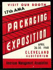 USA Poster Stamp - 1948 Packaging Expostition, Cleveland, Ohio