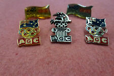 "5 x AGC ""Australian Guarantee Corporation"" Pins Sydney 2000 Olympic Games"