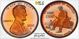 2009-S LINCOLN CENT FORMATIVE YEARS PCGS PR67RB TONED UNC WONDERFUL COLOR