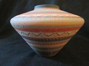 Lorenia Watchman (Navajo) pottery
