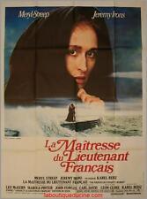 LA MAITRESSE DU LIEUTENANT FRANCAIS Affiche Cinéma / Movie Poster 160x120