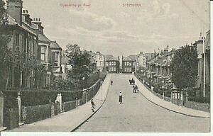 Early SYDENHAM - Queensthorpe Road, houses, people. horses & buggies