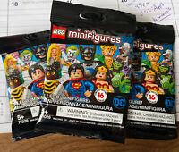 LEGO Minifigures Superman Batman Wonder Woman Joker DC Super Heroes 71026