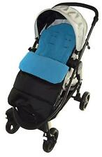 Footmuff/Cosy Toes Compatible with Jane Crosswalk Pushchair Ocean Blue