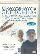 CRAWSHAW'S SKETCHING AND DRAWING COURSE DVD