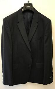"""Paul Smith NAVY BLUE Blazer /Suit Jacket LONDON FLORAL Slim Fit UK44R Chest 44"""""""