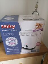 White Nuby Natural Touch electric Steriliser and Dryer
