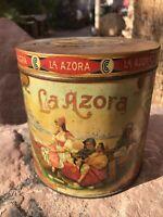 Rare La Azora Operas Tobacco Cigar Tin
