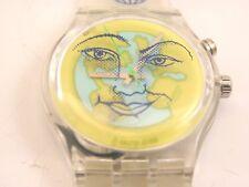 """""""corazón en la tierra"""" Reloj Swatch Vintage Sin Uso"""