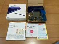 Nintendo DS Lite console Enamel Navy Color Console with BOX and Manual