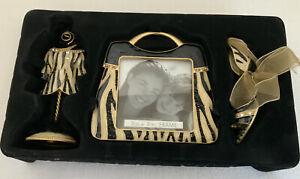 Royal Limited Frame Gift Set Purse Photo Frame Dress And Heel Photo Holders