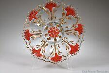c. 1911 CARNATION WARE AKA LA BELLE CARNATION by Lancaster Glass GOOFUS Plate