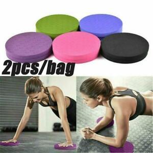 2pcs 0.6Inch Thick Round EVA Foam Yoga Knee Pad Elbow Fitness Anti-Slip Mat