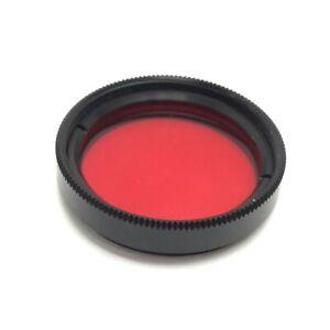 Edmund Optics 89-814 Imaging Filter, Red, Thread: M25.5 x 0.50 C-Mount