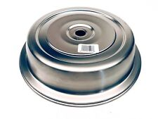 "Vollrath 62312 Plate Cover for 10-9/16""- 10-5/8"" Satin-Finish Stainless (12ct)"