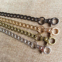 New 20-120 CM Long Four Point Clamp Bag Chain For Handbag Purse Or Strapping Bag