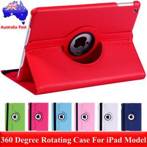 Premium 360 Rotating Folding Leather Case Cover For Apple iPad 2 3 4 iPad Air AU