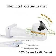 Electrical Rotating Bracket Pan Tilt For CCTV camera Support RS485 DVR Control