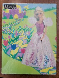 Vintage 1990s Mattel Barbie Mermaid Puzzle