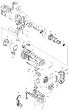 NEU Original Makita DTM51 CORDLESS MULTI TOOL Repair Spare Parts Replacement