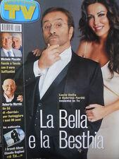 TV Sorrisi e Canzoni n°5 2002 Sabrina Ferilli Lucio Dalla Roberto Murolo  [D2]