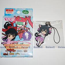 SEGA rubber mascot clip / strap -  Ling Xiao Mei from Shining Blade