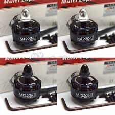 2 Pair EMAX Cooling New MT2206 II 1500KV Brushless Motor CW CCW for RC Multicop