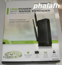 NEW Amped Wireless High Power Wi-Fi Range Extender SR10000 600mW 5 wired Port