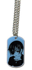 Black Butler Ciel Dogtag Necklace  Official Licensed GE35561